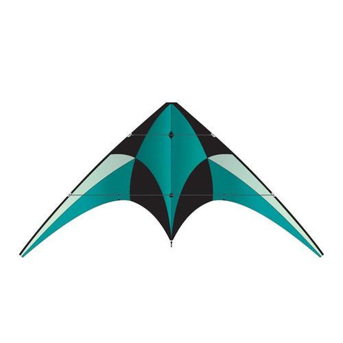 Dual Control Sport - XL Teal Stunt Kite