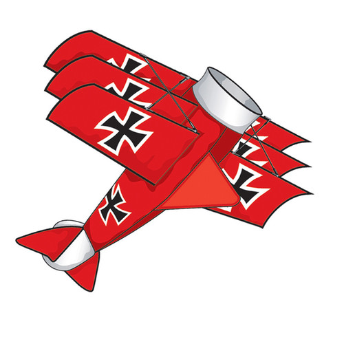 SuperSize 3D - Red Baron Kite