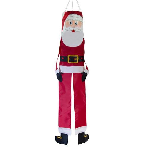 """Windsock - 40"""" 3D Lil' Santa"""