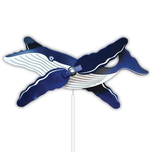 Humpback Whale WhirlyGig Garden Spinner