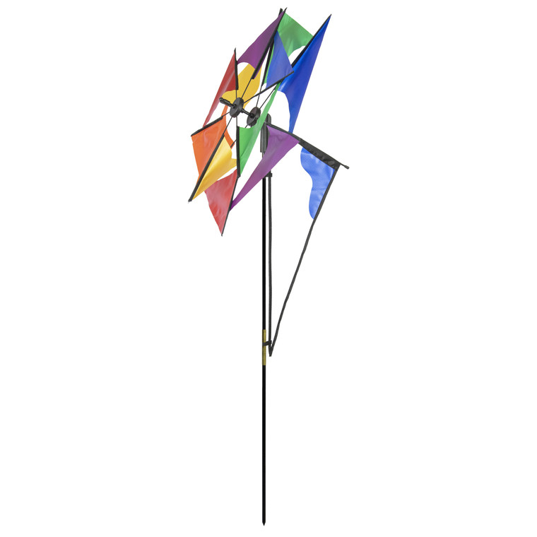 Rainbow Glasshouse Windmill