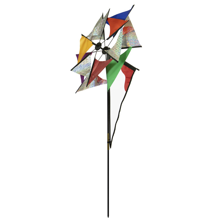 Laser Rainbow Glasshouse Windmill