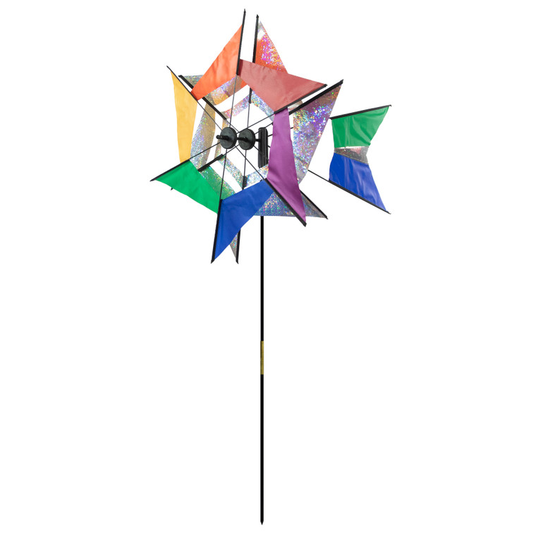 Laser Rainbow Kaleidoscope Windmill