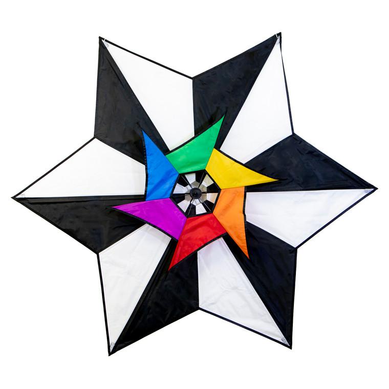 Revolving Rotor Star Kite