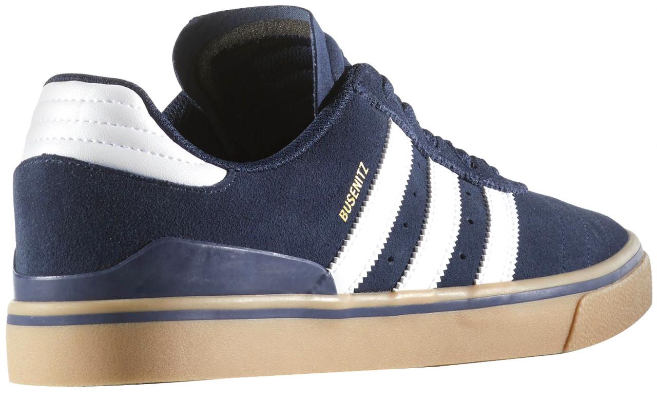 d155d7888c6e Adidas Busenitz Vulc ADV Skate Shoes Navy White Gum ...