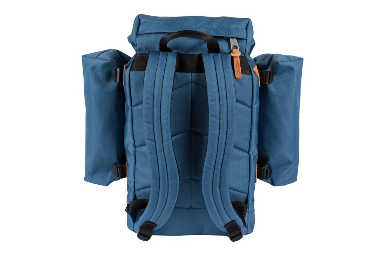 10a4279ec Poler Classic Rucksack Backpack Petrol Blue Black | Boardparadise.com