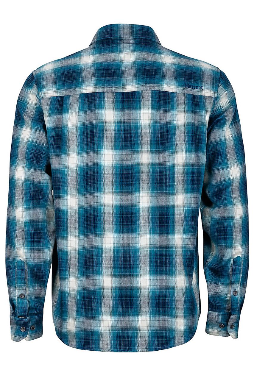 Marmot Fairfax Flannel Shirt Mens Denim Blue Boardparadise Com