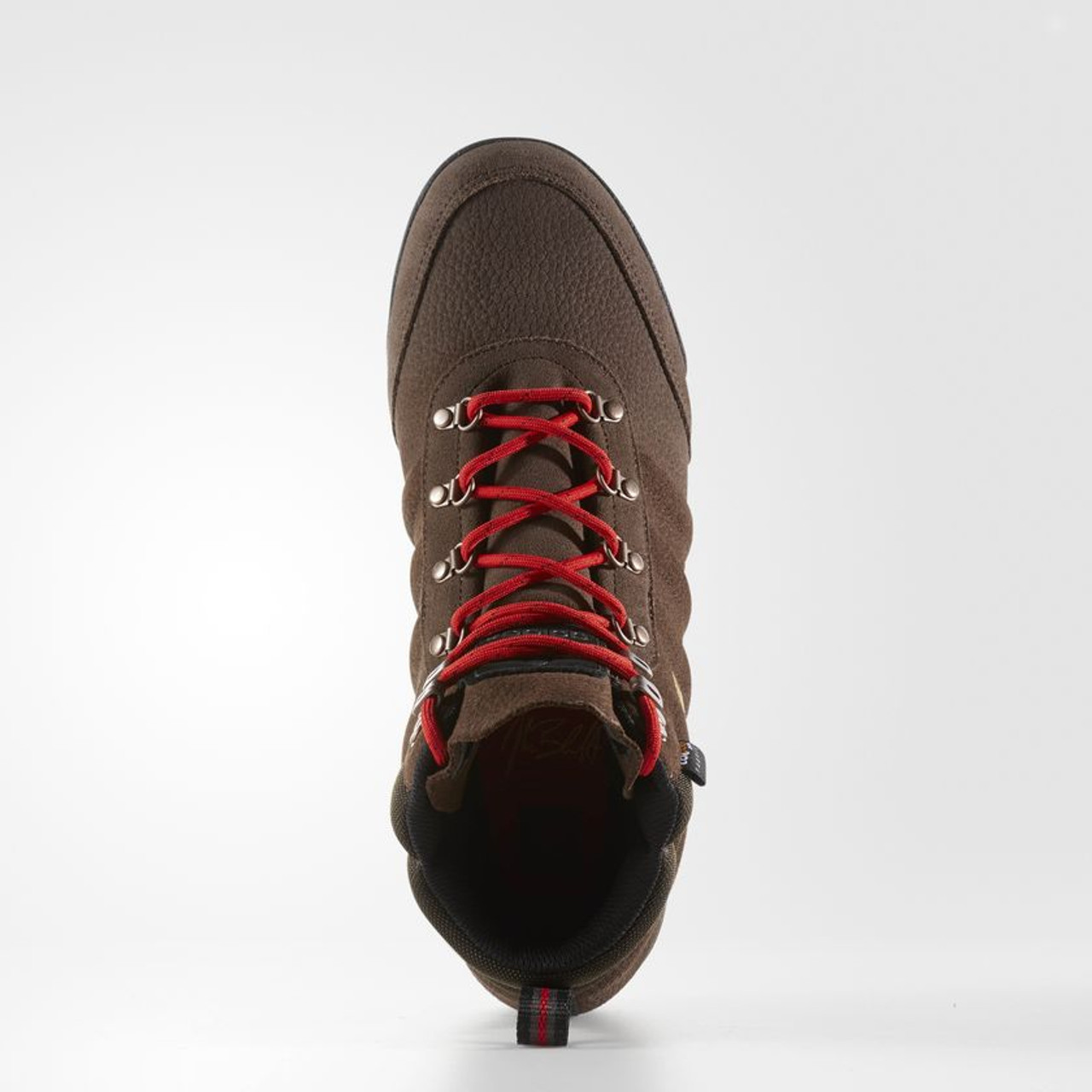 76c6d07f343 Adidas Jake Boot 2.0 Hiking Boots Mens Brown Scarlet