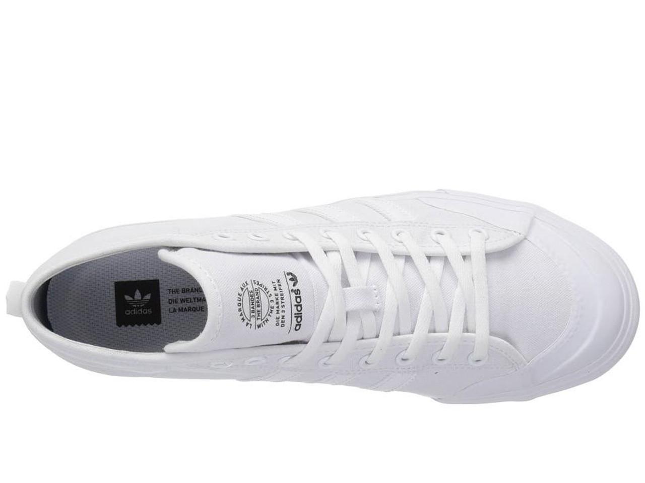 uk availability 00b21 f3146 Adidas Matchcourt Mid Shoes All White   Boardparadise.com