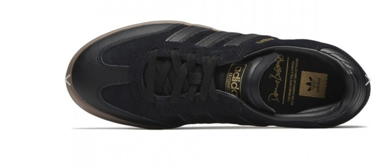 60706ab1c Adidas Busenitz Vulc RX Shoes Black Black Gum ...