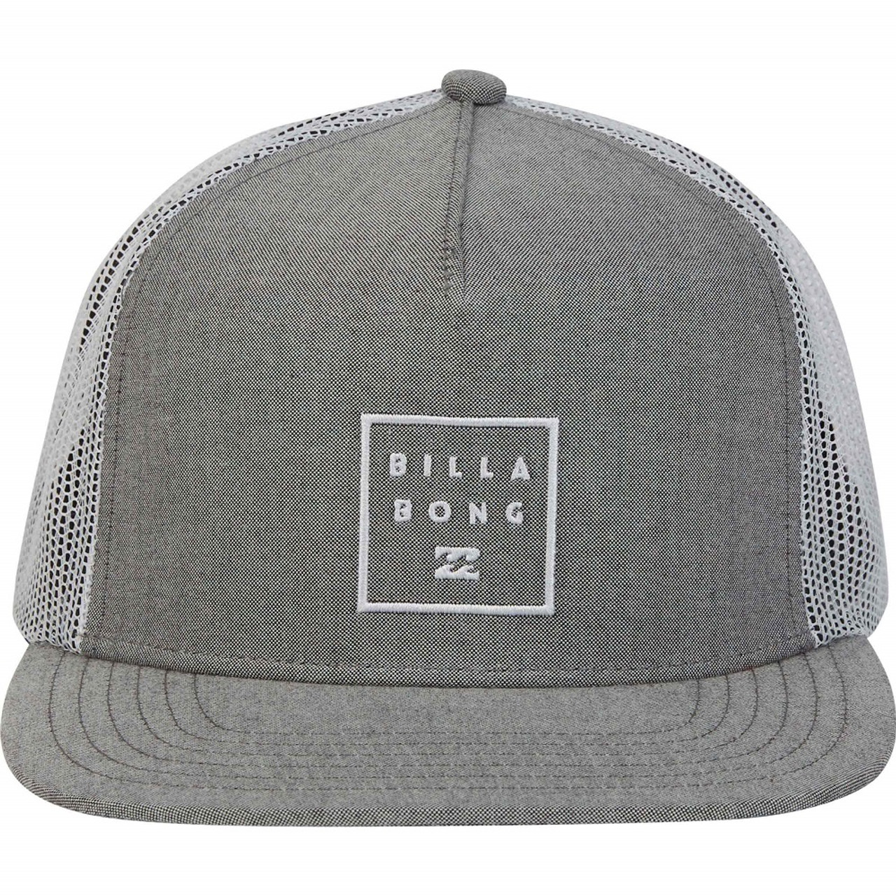 f93f5a717b3 Billabong Stacked Trucker Hat Grey White Onesize
