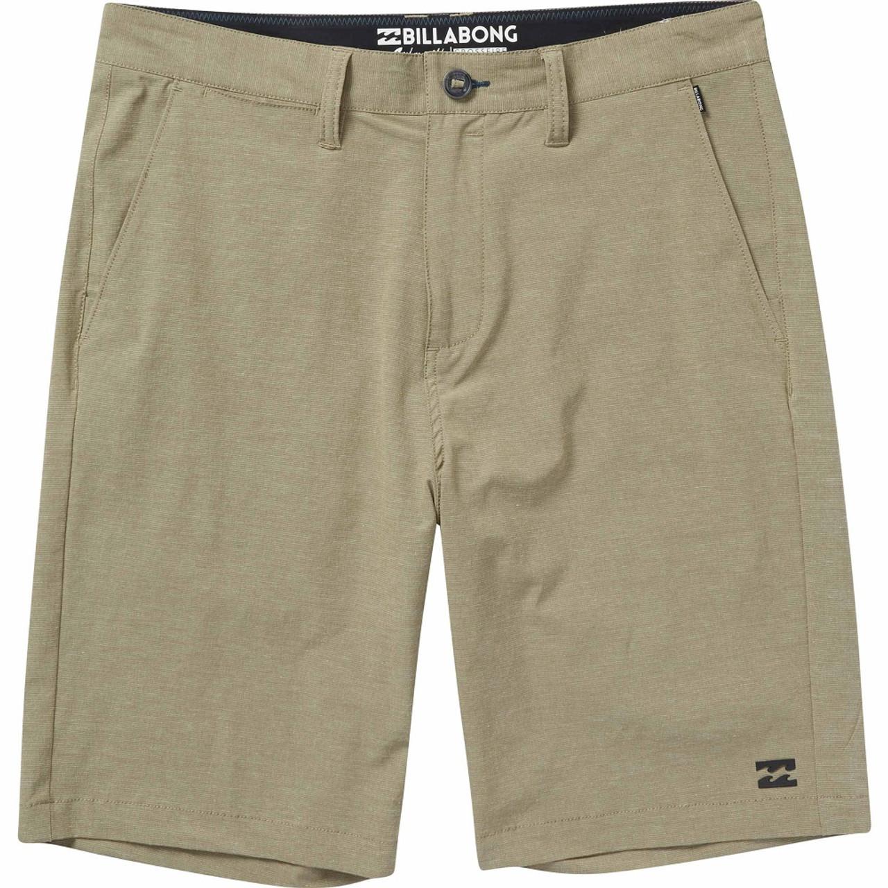 84dab86f32 Billabong CrossFire X Hybrid Shorts Mens Khaki