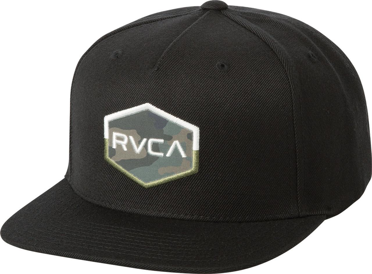 e8884af58c2 Rvca Commonwealth Iii Hat Black Snapback