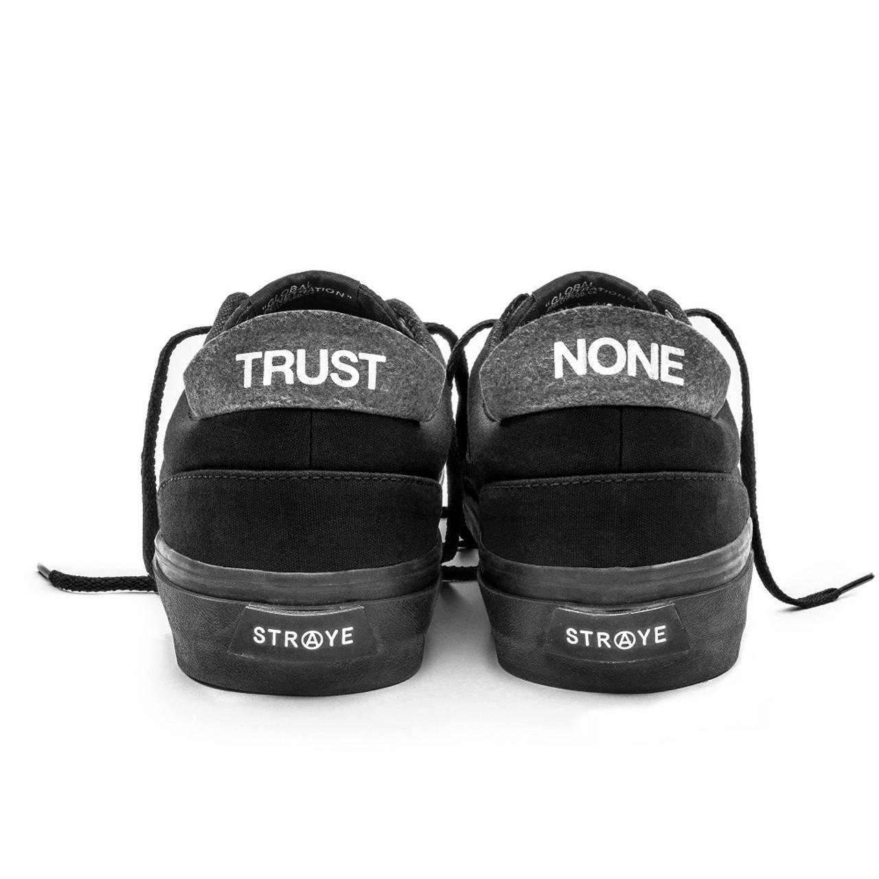 Straye Fairfax Suede Shoes Black Black  2c07e27bbca