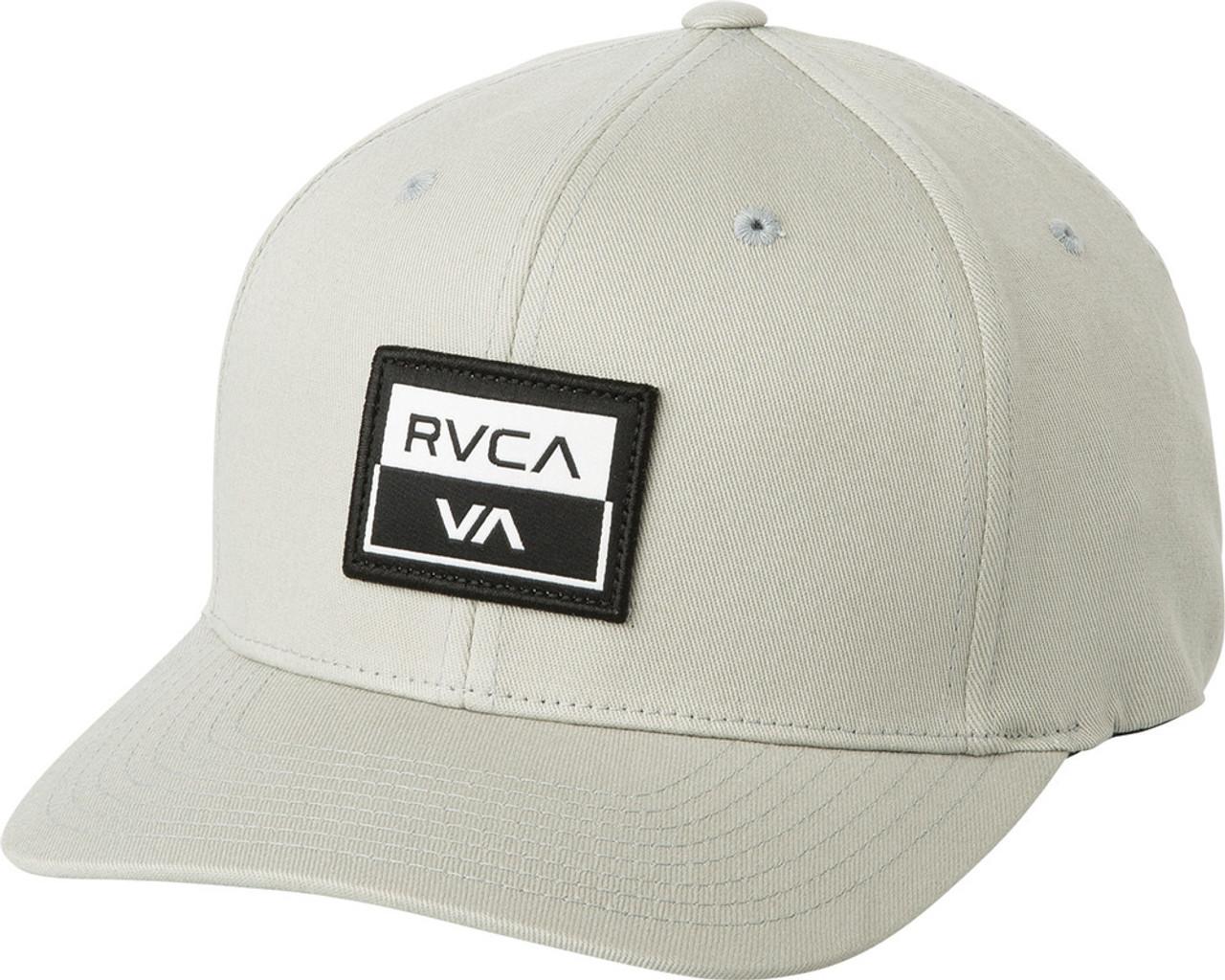 new arrival 87416 cc429 Rvca Metro Hat Flexfit Grey   Boardparadise.com