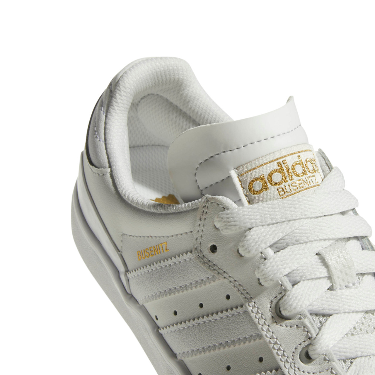 09d86dc962c Adidas Busenitz Vulc Rx Shoes White Leather White Suede ...