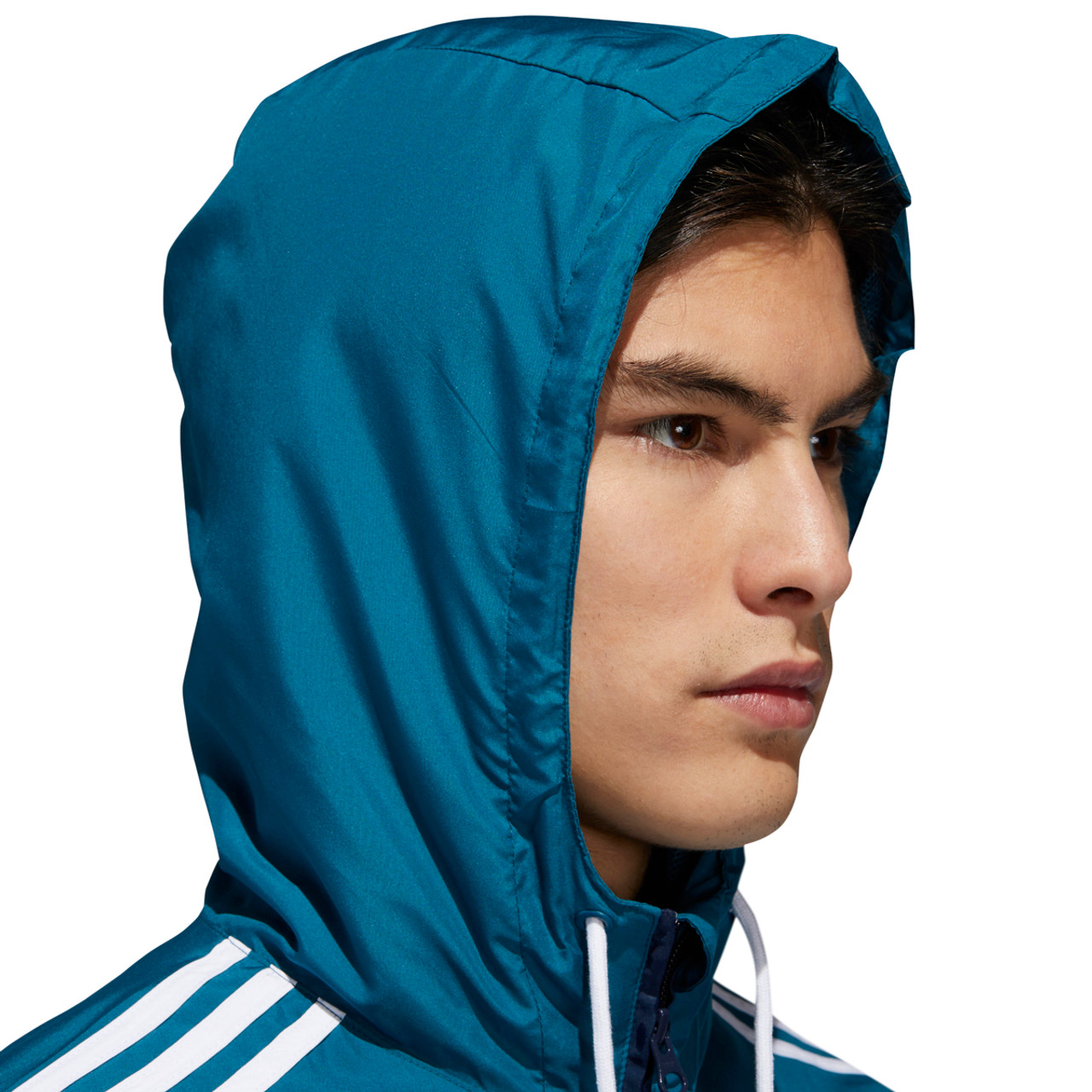 2dab84c61 Adidas Premier Windbreaker Jacket Mens Teal Navy | Boardparadise.com