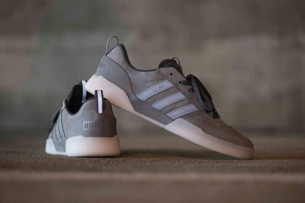 newest 7e824 322d9 Adidas Numbers City Cup Limited Shoes Grey Carbon   Boardparadise.com