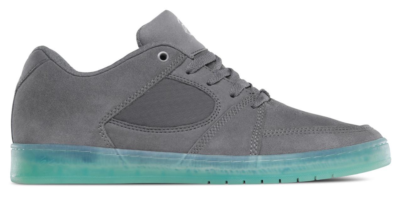 Es Accel Slim Skate Shoes Dark Grey