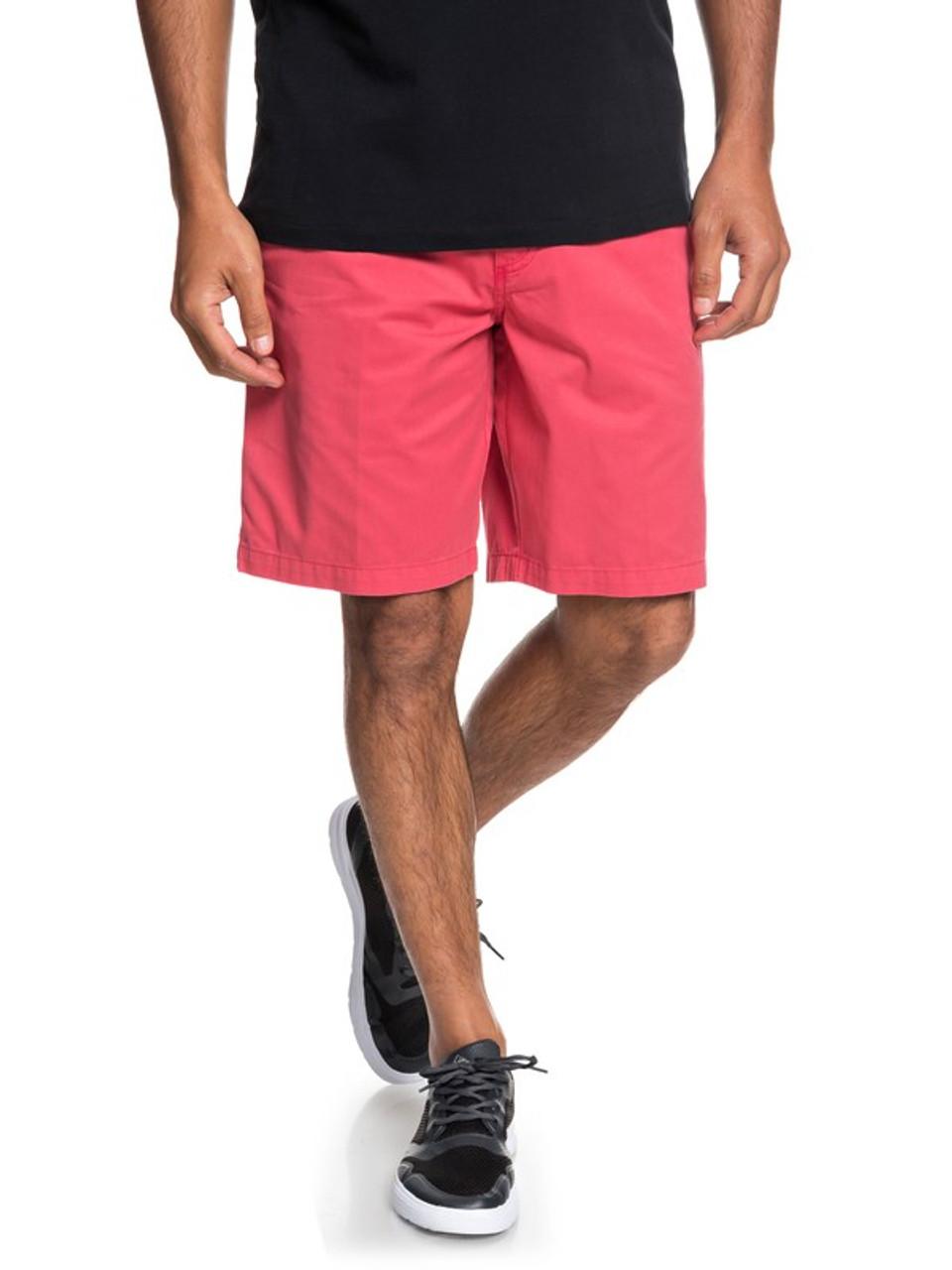 "Quiksilver Waterman Secret Seas 20/"" Chino Shorts Cardinal"
