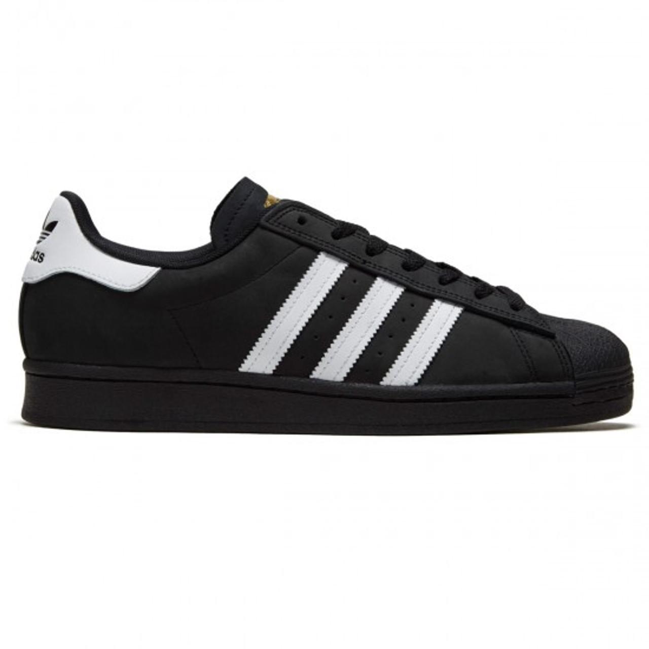 Adidas Superstar Shell Toe Shoes Black