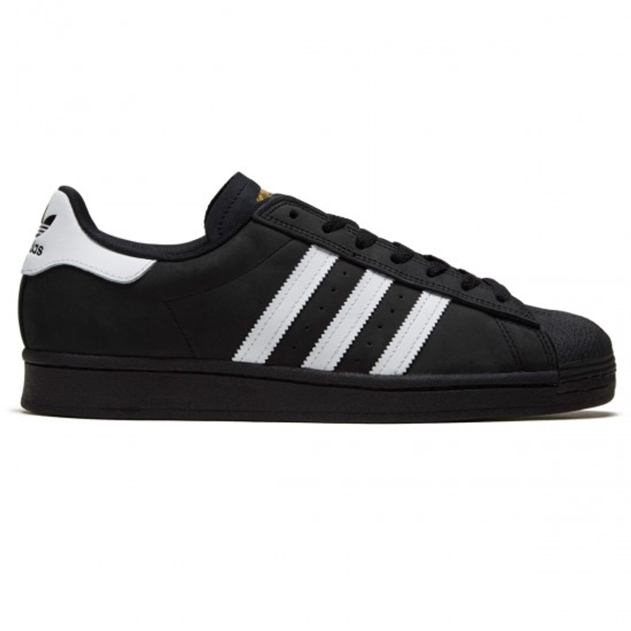 Sorprendido prioridad adherirse  Adidas Superstar Shell Toe Shoes Black White | Boardparadise.com