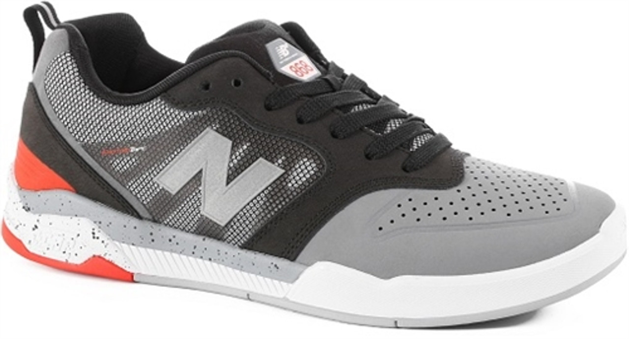 c6ecc948df5 New Balance 868 Skate Shoes Grey Black