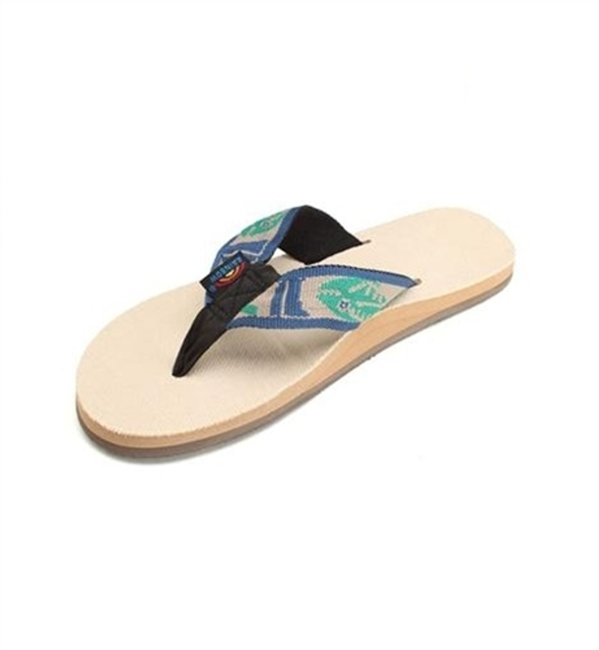 49e916460 Rainbow Sandals 301 Ahpfs Mens Natural Hemp Green Fish | Boardparadise.com