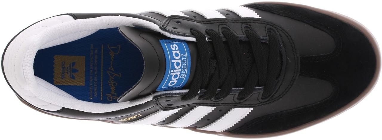 69590de08 Adidas Busenitz Vulc Rx Mens Shoes Black White Gum