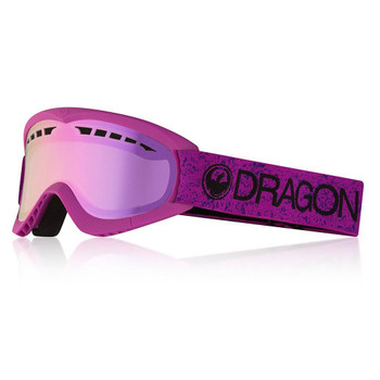 f547a6592aca Dragon Dx2 Two Lumalens Snow Goggles Whiteout Pink Ion ...