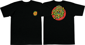 838e010d Santa Cruz Tmnt Turtle Power Tshirt Mens Black | Boardparadise.com
