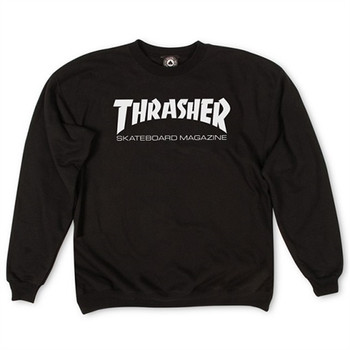 Thrasher Goddess Crewneck Black | Boardparadise com