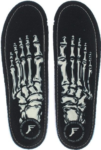 FOOTPRINT KINGFOAM SKELETON BLK 6-6.5 INSOLES