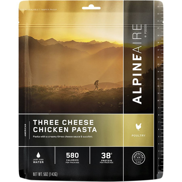 AlpineAire Three Cheese Pasta White Onesize