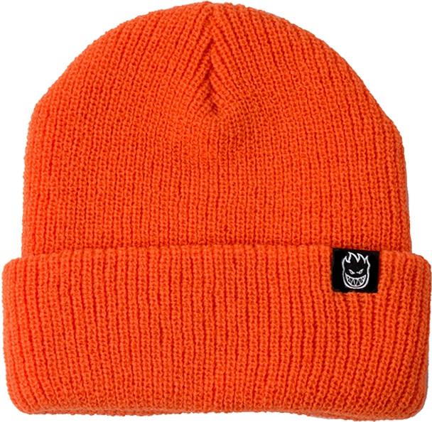 a9c3e018d60c3 Spitfire Bighead Clip Label Cuff Beanie Orange