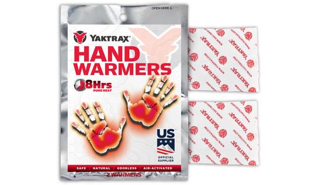 Yaktrax Hand Warmers (1 pack) White Onesize