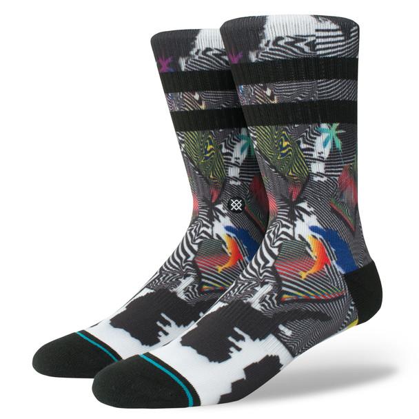 Stance Pixel Paradise Socks Men Black L (9-12)