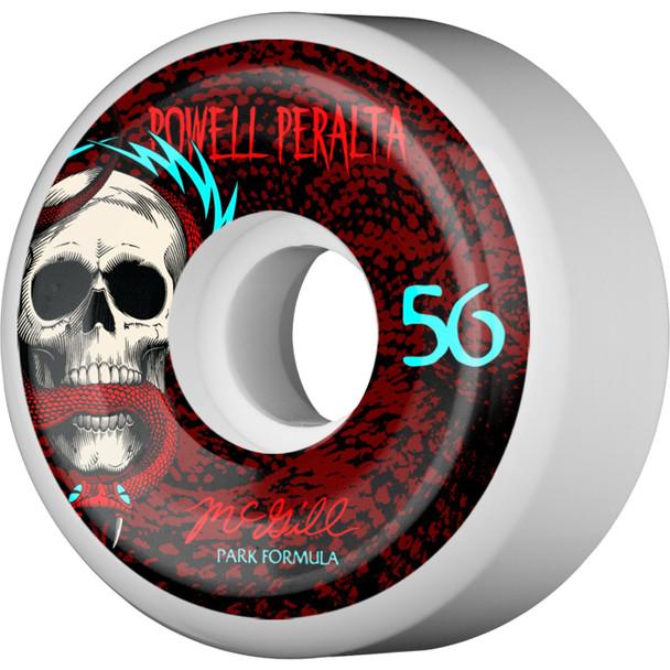 Powell McGill Skull & Snake Wheels Set White Red 56mm