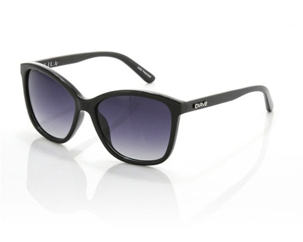 Carve Lila Sunglasses Black Polarized