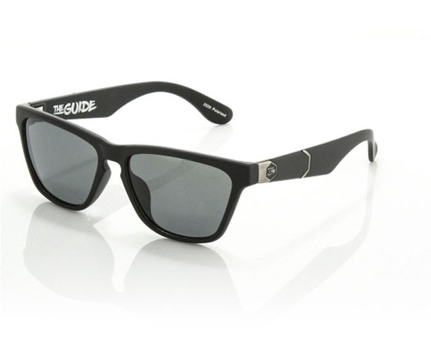 Carve Guide Sunglasses Matte Black Polarized