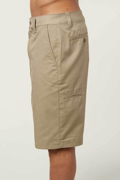 Oneill Contact Shorts Mens Lt Khaki