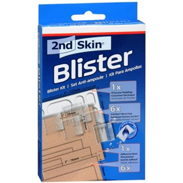 Spenco 2nd Skin Blister Kit Blue Onesize