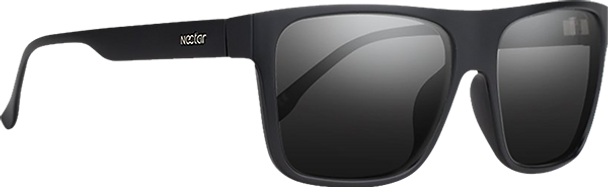 NECTAR ONYX POLARIZED SUNGLASSES BLK/BLK