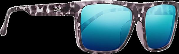 NECTAR DILL POLARIZED SUNGLASSES TR90 GREY TORT/BLUE