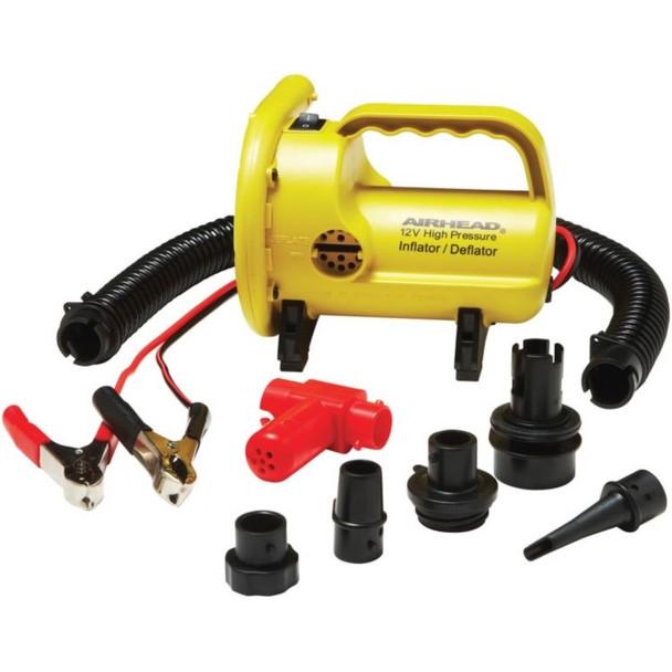Airhead 12V High Pressure Pump Yellow OneSize
