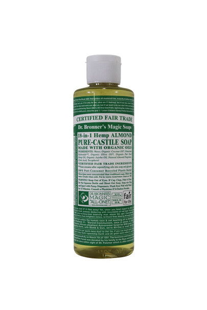 Dr. Bronner Organic 4oz Soap Almond 8oz