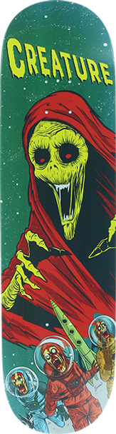 CREATURE SPACE HORRORS MD SKATE DECK-8.0 w/MOB Grip