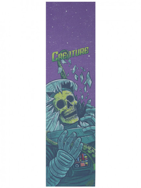 Creature x Mob Space Horrors Grip Tape Purple Green 9x33