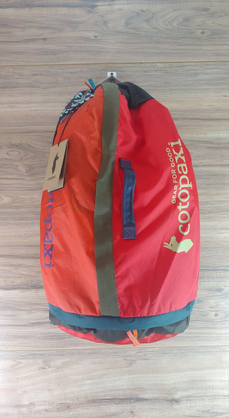 Cotopaxi Uyuni Duffel Bag Orange Blue 46L