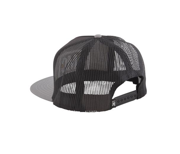 Loser Machine LMC Legacy Trucker Hat Black Grey Snapback